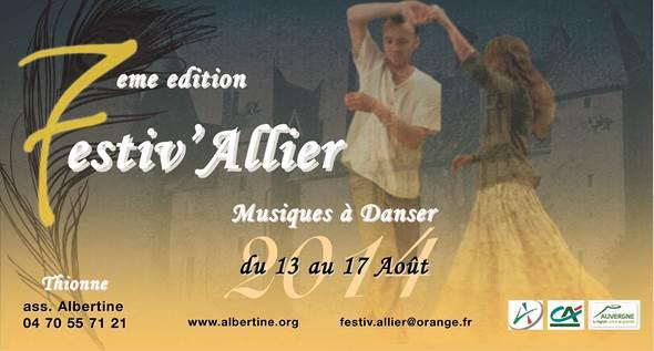 Festiv'Allier in chateau des Fougis