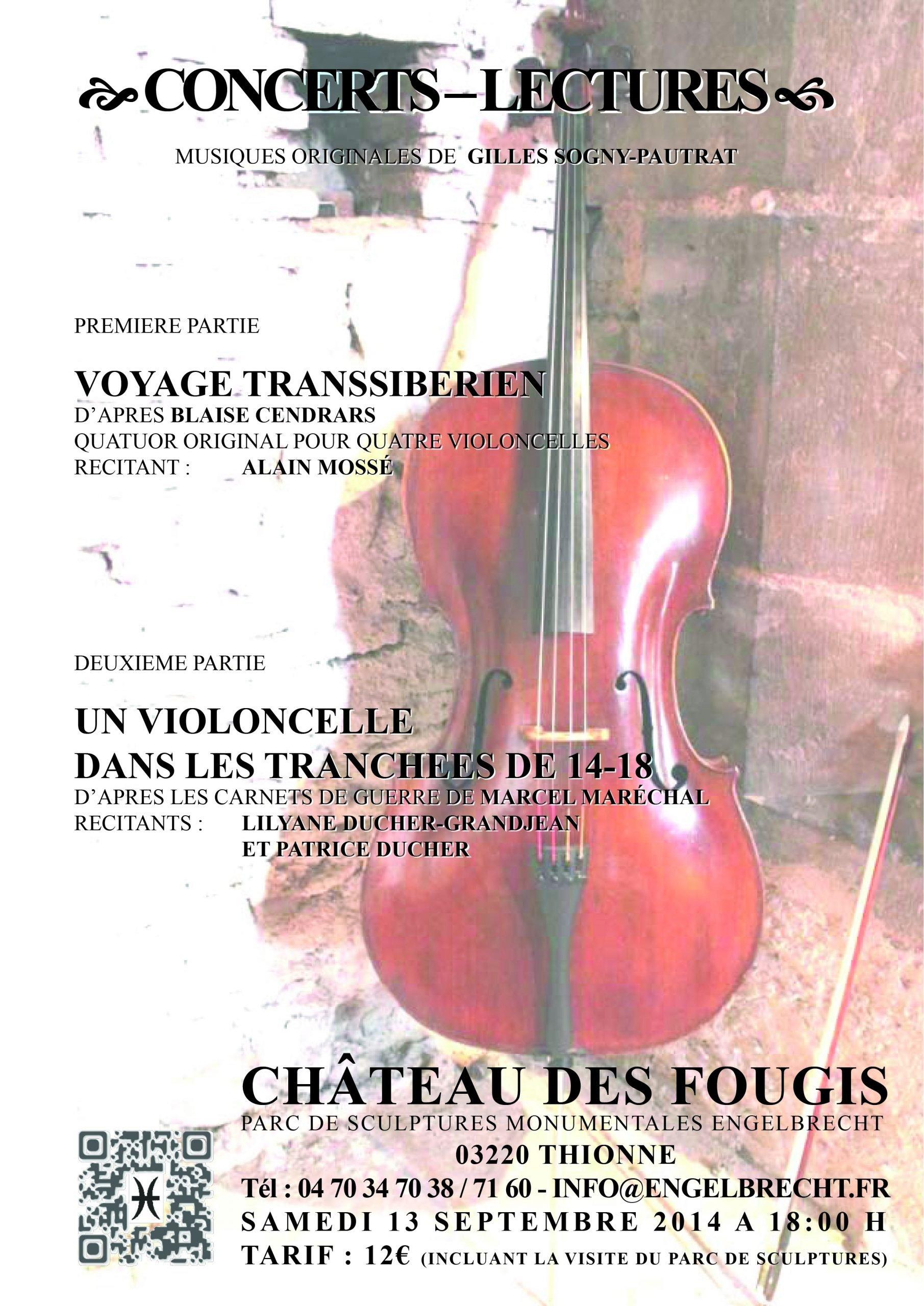 Concert-Lecture in chateau des Fougis