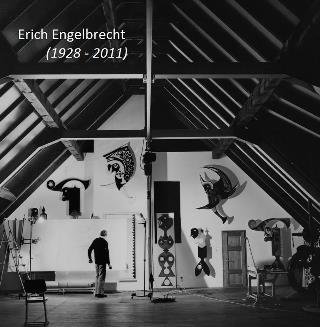 Erich Engelbrecht in his workshop in Holterdorf, Melle