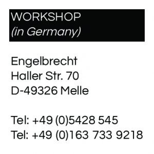 Contact Workshop and collection in Germany